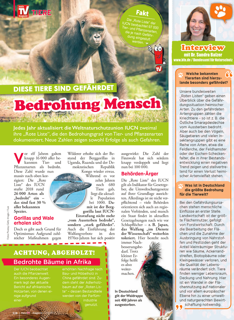 Martinas Welt Tiere Umwelt